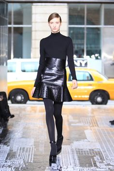Croc skirt from DKNY Fall 2012 Ready To Wear Collection.