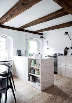 lighting + lower cabinets...