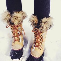 Sorel, Joan of Artic Boots  Maybe if I had these boots I would go outside more often