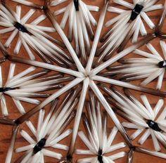 Dawn Walden (Ojibway/Canadian), Makuk Bucket detail, fern stem/porcupine quills/birch bark, c. 2010.