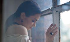 """Фотосессия для обложки """"В витринах"""" Катя Нова"""