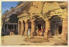 アジャンタ 石岩窟寺院