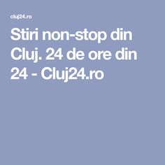 Stiri non-stop din Cluj. Non Stop, Concert, Concerts