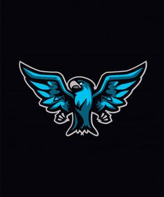 Team Logo Design, Game Design, Logo Bird, Android Wallpaper Black, Logo Dragon, Fc Barcelona Wallpapers, Esports Logo, Sports Team Logos, E Sport