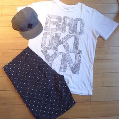 Publish shorts, Chaser tee and Ambig hat. www.BareRebel.com