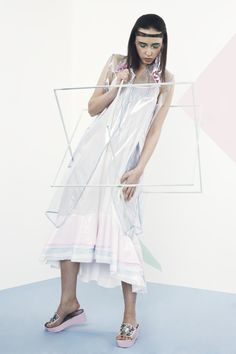 Combining performance sportswear and kitsch, creates a super chic and modern look,with a touch of lollypop. Soft Power, Kitsch, Pastels, High Low, Sportswear, Layers, Ballet Skirt, Touch, Chic