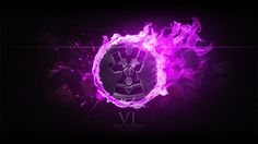 Vi League of Legends Logo High Resolution 2560×1440