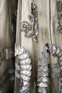 Evening dress (image 3 - detail) | Lucile | British | 1916-18 | silk | Metropolitan Museum of Art | Accession Number: C.I.44.64.37a–c
