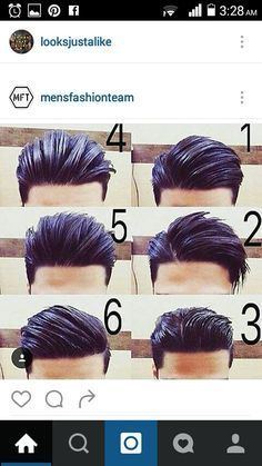 Men's Hair, Haircuts, Fade Haircuts, short, medium, long, buzzed, side part…