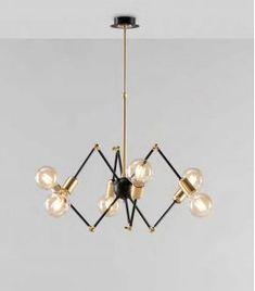 Comprar online Lámpara de techo de estilo Vintage modelo SPIDER Led, Chandelier, Ceiling Lights, Lighting, Ideas, Home Decor, Model, Contemporary Style, Hanging Lamps