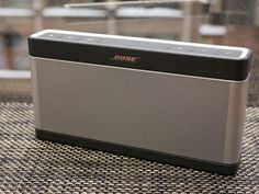 Based on reviews and personal experience.  I want bose brand.   Ideally I want something with 2 speakers if that exists because I want to use it to watch movies and listen to music in my room and out n about