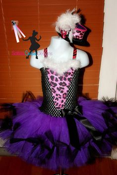 Monster High inspired costume, Clawdeen Wolf. $69.00, via Etsy.