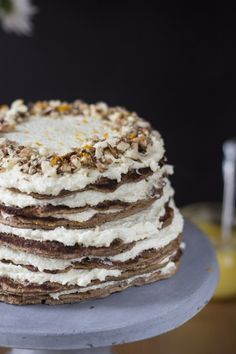 Sárgarépás amerikaipalacsinta-torta recept