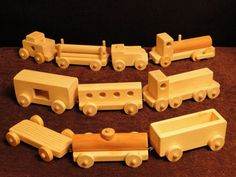 Train Cars and Engines each piece sold separately by ToysByJohn, $5.99