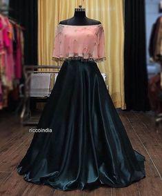 Party Wear Indian Dresses, Designer Party Wear Dresses, Party Wear Lehenga, Indian Gowns Dresses, Dress Indian Style, Indian Fashion Dresses, Indian Wedding Outfits, Indian Designer Outfits, Designer Wear