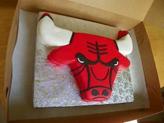 chicago bulls cake - Google Search