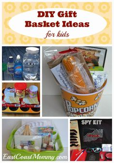 5 DIY Gift Basket Ideas {for kids} - FANTASTIC ideas to fit ANY budget!