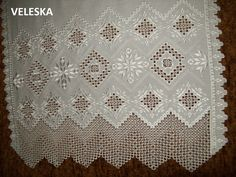rushnik, traditional towel used in wedding and other ceremonies.Hardanger. . Took me 8 monthes to complete рушник, хардангер, елементи полтавської гладі та вирізування, власна розробка