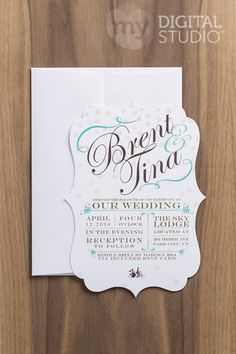 Awesome shape for DIY wedding invitations. save the dates and more. Let me help you create a unique look.