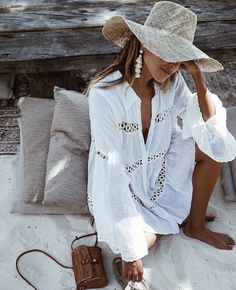Summer Coastal Outfit for Beach and Hot weather