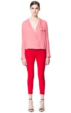 Red Coated Trousers
