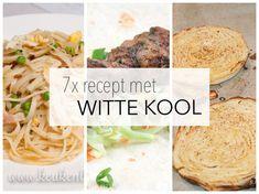 Witte kool is niet alleen lekker en gezond, je kunt er ook alle kanten mee op! Verwerken in salades, wokken, bakken, roosteren, noem het maar op.