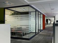 Glass partitions, glass systems
