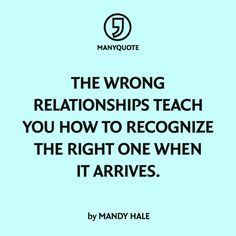 mandy hale quotes   Mandy Hale: How to recognize the right one when it arrives