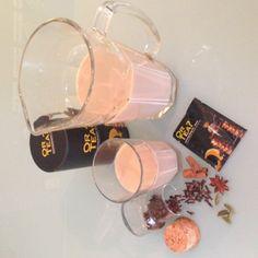 """Indische melkthee """"chai"""" op basis van """"Towering Kung Fu"""" zwarte thee. Recept op www.or-tea.be!"""