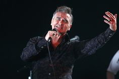 "Morrissey recuerda su paso por el Festival de Viña: ""Estaba feliz de estar ahí"" - an interview in Spanish via Emol/Chile, November 2015."