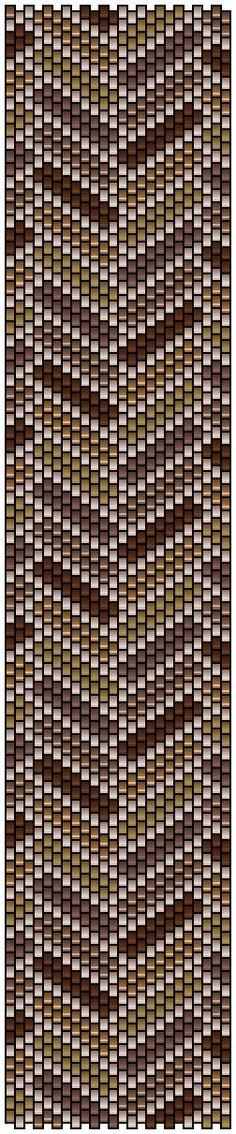 pencio - peyote pattern parquet