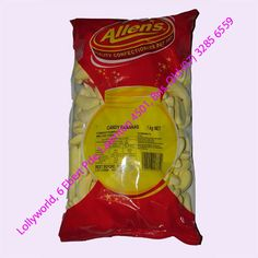 Allens Candy Banana Lollies