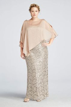 Find the perfect women's plus size dresses at David's Bridal for any occasion, including cocktail, party, evening & maxi dresses in all colors. Shop now!