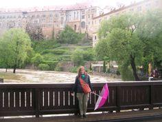 puentecito...río alto.. atrás el castillo