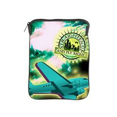 Straighten Up and Fly Right iPad Sleeve