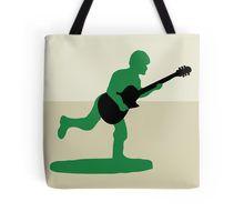 Guitar Soldier Tote Bag