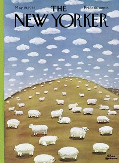 The New Yorker - Monday, May 19, 1975 - Issue # 2622 - Vol. 51 - N° 13 - Cover by : Charles Addams