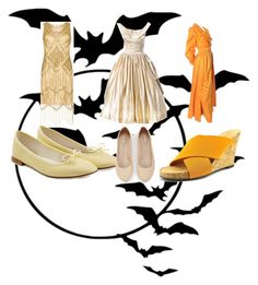"""Halloween Ideas?"" by jujubee-964 on Polyvore featuring Repetto, Express, Aerosoles and costumes"