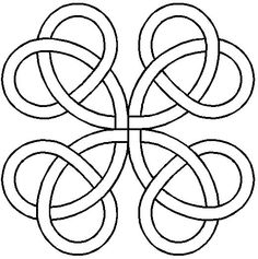 Celtic knot templates kelttisolmuttaide ja solmut quilt stencil true lovers knot 11in by cory pepper block quilting stencil pronofoot35fo Image collections