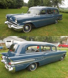 Pontiac Ambulance/Hearse Station Wagon 1957....Brought to you by Agents of #CarInsurance at #HouseofinsuranceEugene