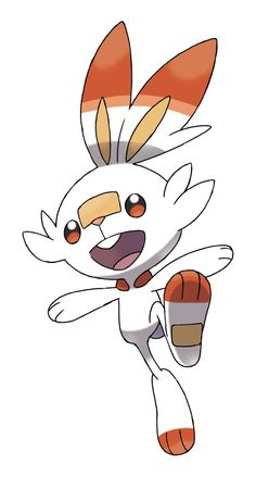 Scorbunny is an eighth generation fire-type starter for Pokemon Sword and Shield. The official definition calls it bursting with energy and always running around. Here is more on the Pokemon. Type Pokemon, All Pokemon, Pokemon Names, Pokemon Pokedex, Pikachu Pikachu, Centro Pokemon, Pokemon Fantasma, Tous Les Pokemon, Cards