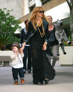 Rachel Zoe Kitson Newsroom Beverly Hills son Skyler