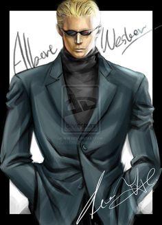 Albert Wesker Sexy   Albert Wesker 3 by ~xiaofeihui on deviantART