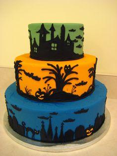Halloween cake =]