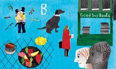 UK / Brighton  banksy, graffiti, english breakfast, dog, book store, - yonacity
