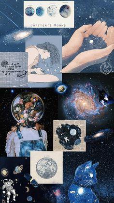 Jupiter collage lockscreen