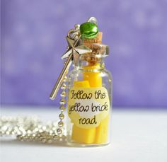 Mouse over image to zoom      Follow-The-Yellow-Brick-Road-Pendant-Necklace-film-Wizard-of-Oz-Inspired     Follow-The-Yellow-Brick-Road-P...