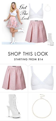 """Get the look ~{Alisha Marie}"" by lorypanda ❤ liked on Polyvore featuring Giambattista Valli, Hanky Panky and Lipsy"