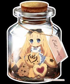 Alice in Wonderland Chibi Kawaii Anime Chibi, Anime Pokemon, Chibi Kawaii, Manga Kawaii, Cute Chibi, Manga Anime, Lewis Carroll, Japan Kultur, Anime Quotes Tumblr