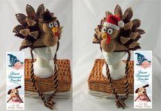 Holidurkey Turkey Hat  Any Size  Any Color by desertdiamond, $40.00